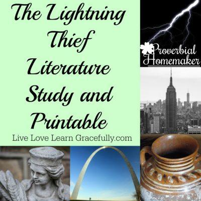 Lightning Thief Unit Study (+ Printable)