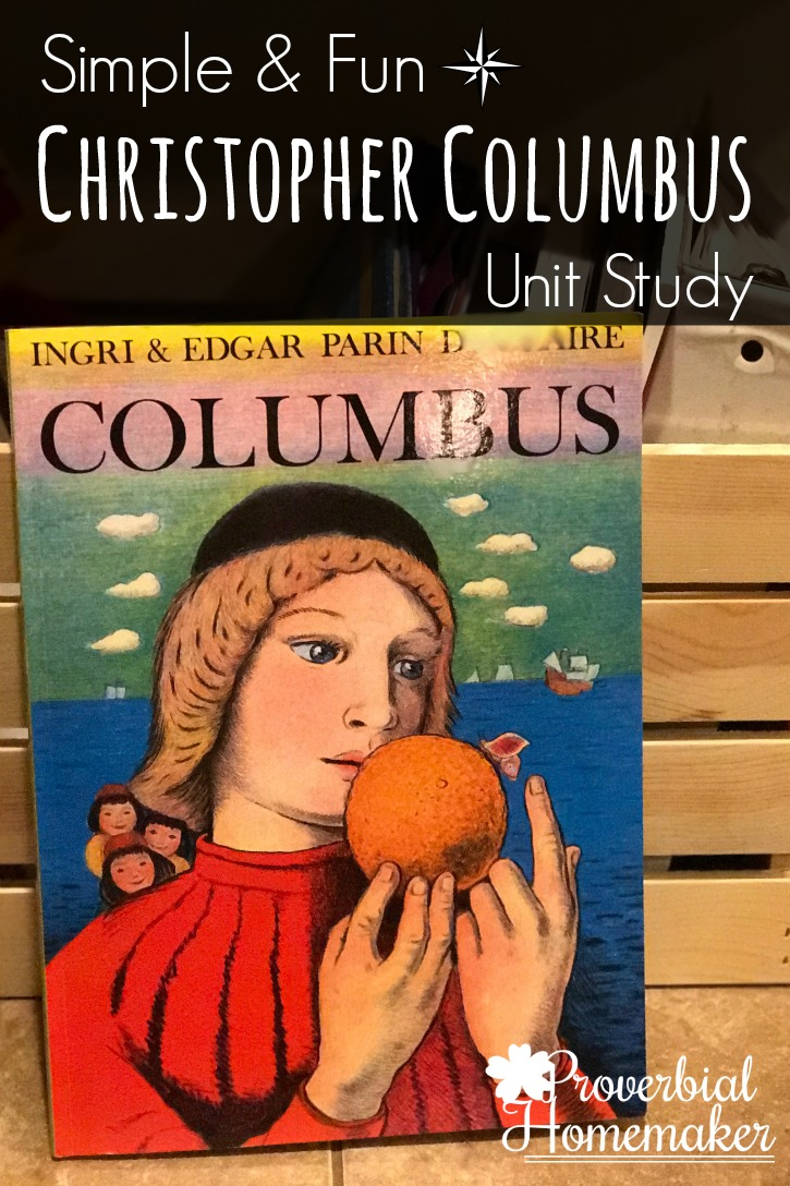 LOVE this set of resources for a simple and fun Christopher Columbus unit study. Literature-based, too!
