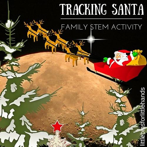 Tracking Santa STEM activities