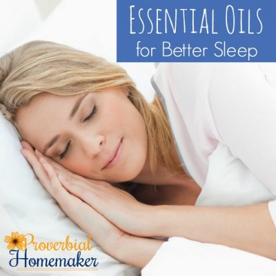 Essential Oils for Better Sleep (+ Recipes!)
