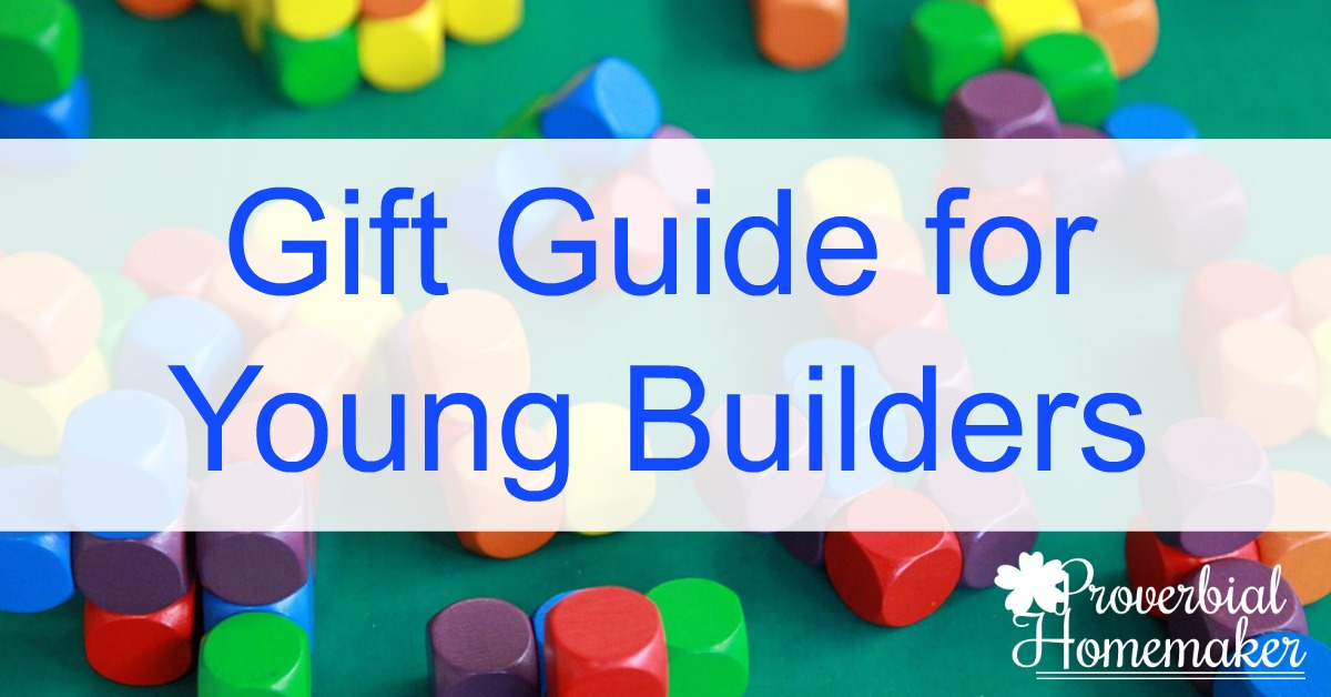 A great gift guide for young builders!