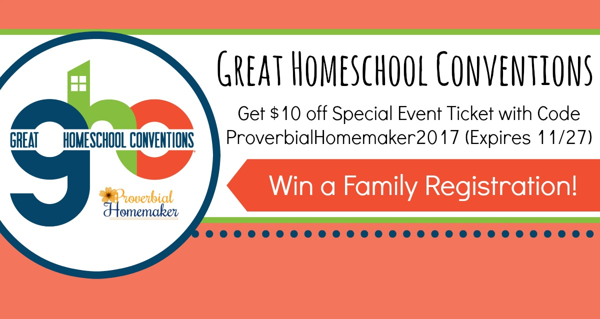 7 reasons to attend great homeschool conventions proverbial homemaker would love to go to great homeschool conventions this year check out the speakers and fandeluxe Images