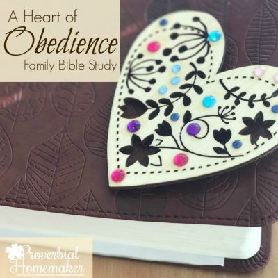 Teach Children Obedience (Family Bible Study)