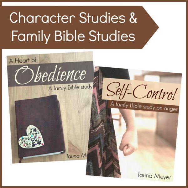 Character & Family Bible Studies (Digital)