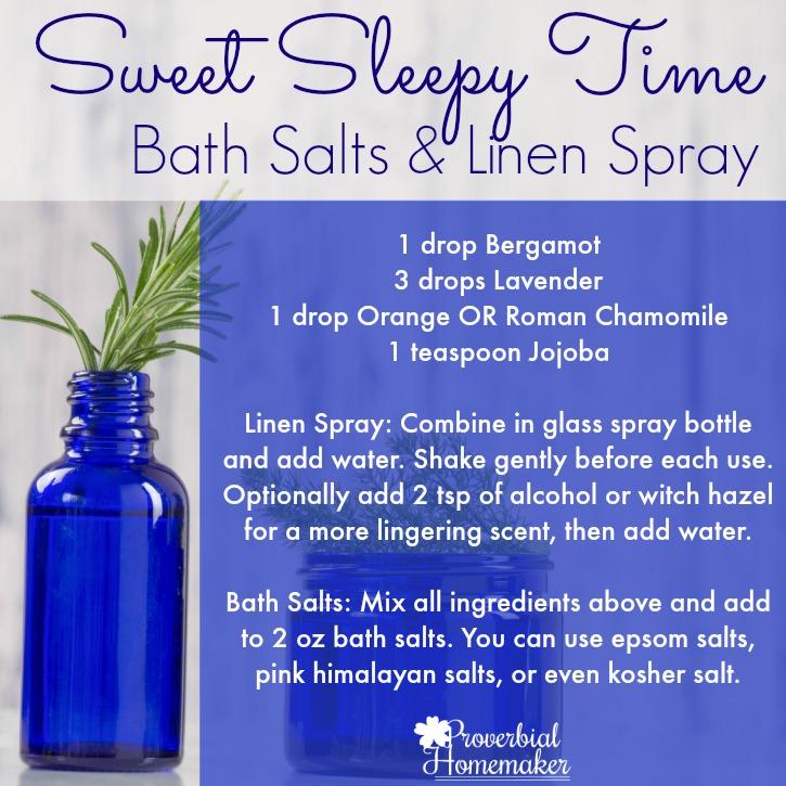 Essential Oils For Better Sleep Recipes Proverbial Homemaker