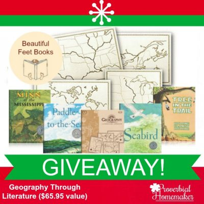 Geography Through Literature (GIVEAWAY from Beautiful Feet Books!)
