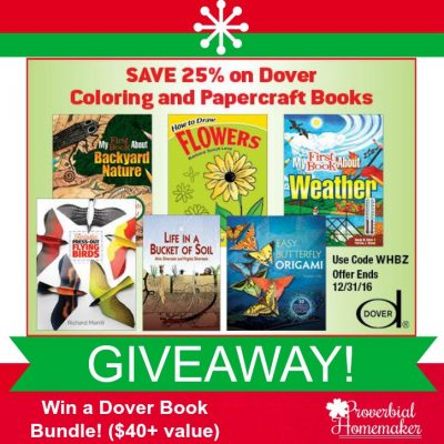 Explore Nature with Dover Publications + 2-Winner Giveaway ($42 value)