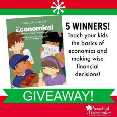 Teach Kids About Economics (5-Winner GIVEAWAY!)