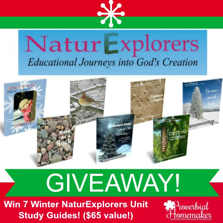NaturExplorers Nature Study Guides GIVEAWAY ($65 value)