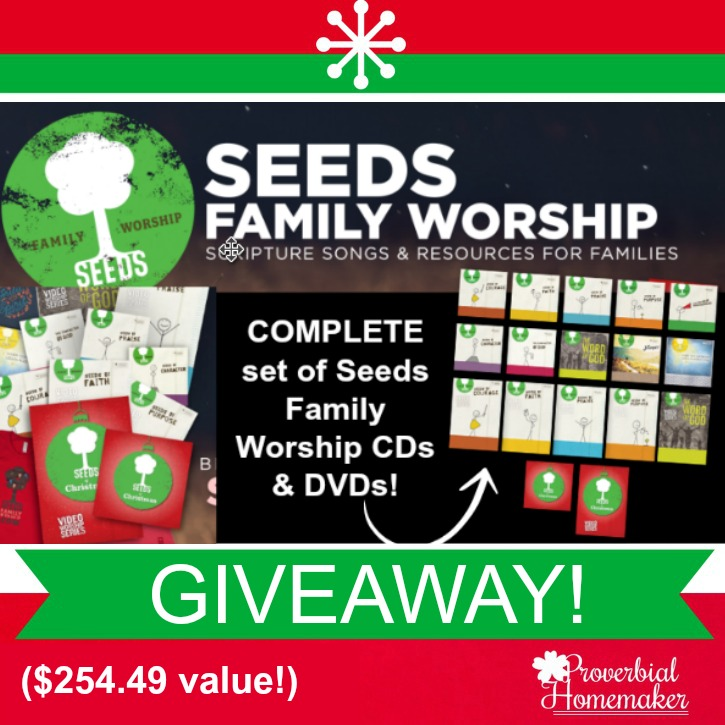 Seeds Family Worship GIVEAWAY ($250+ value!)