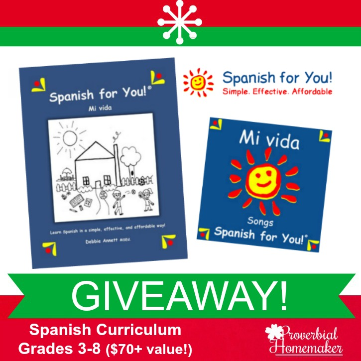 Spanish For You (Curriculum GIVEAWAY!)