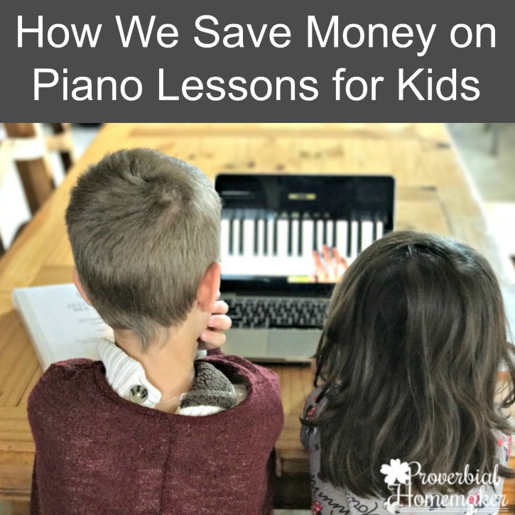 How We Save Money on Piano Lessons for Kids