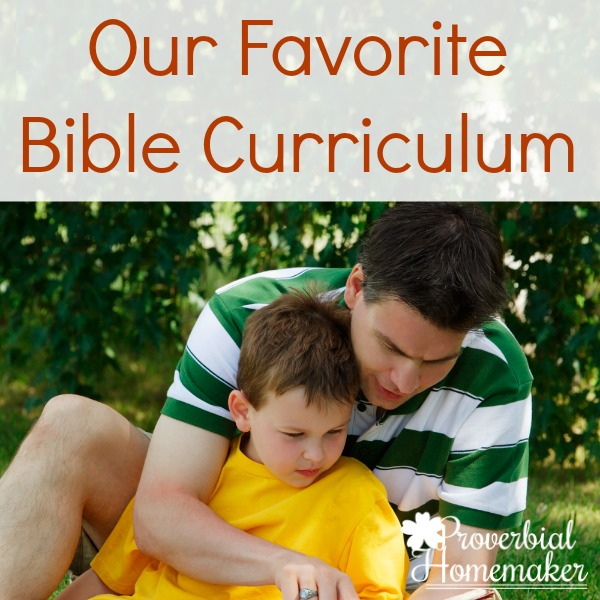 Our Favorite Bible Curriculum