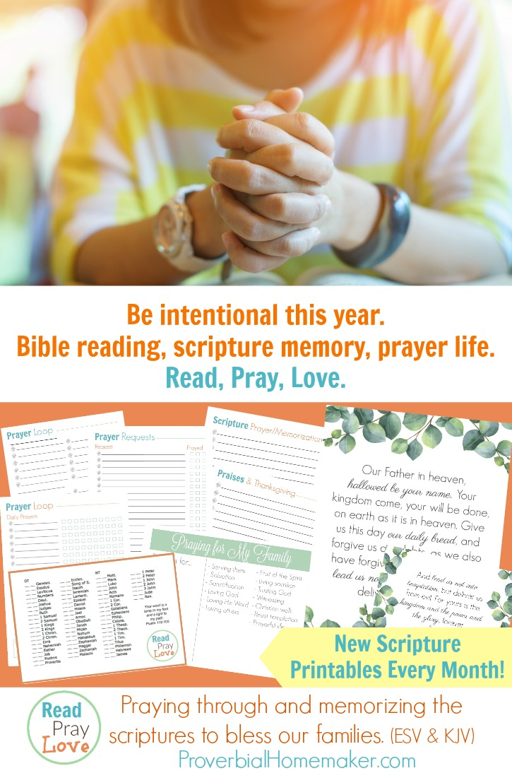 2018 Read, Pray, Love: A Year of Intentional Scripture Reading