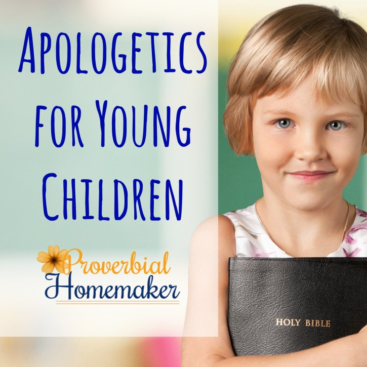 Apologetics for Young Children (6-Book Apologia Giveaway!)
