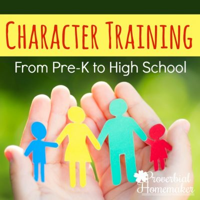 Character Training for Pre-K to High School