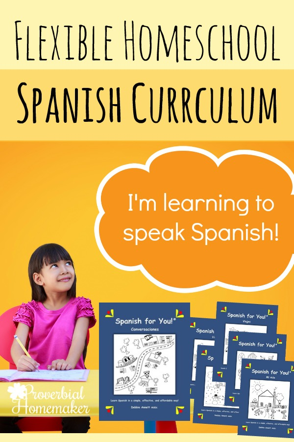 spanish curriculum Spanish for you is a spanish curriculum for elementary school, middle school, homeschool & homeschool co-ops a fun spanish program for students grades 3-8.