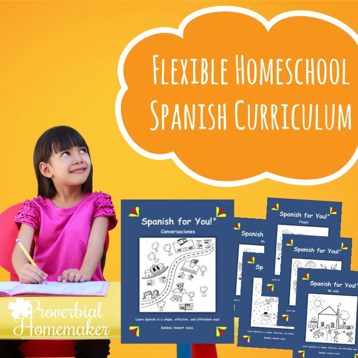 Flexible Homeschool Spanish Curriculum