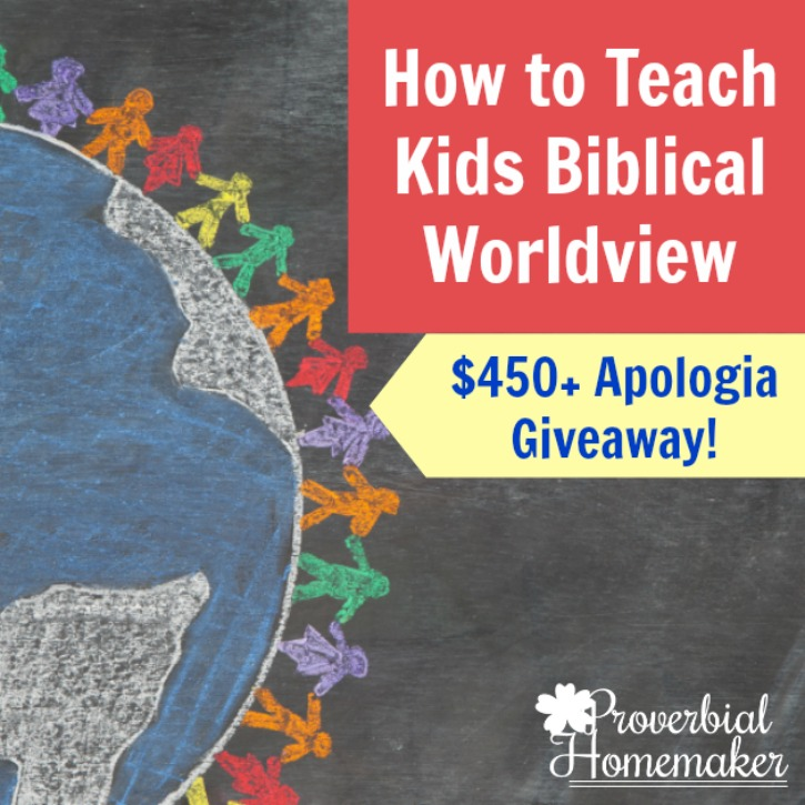 How to Teach Kids Biblical Worldview