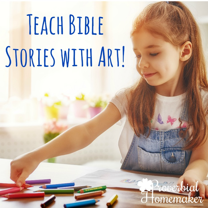 Teach Bible Stories with Art (GIVEAWAY!)