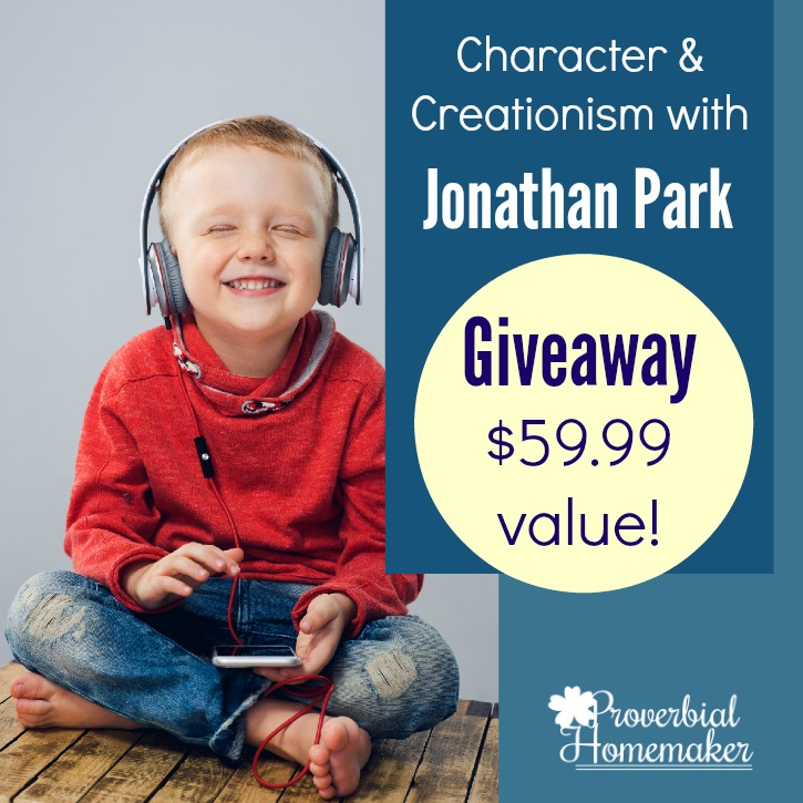 Character and Creationism with Jonathan Park (GIVEAWAY!)