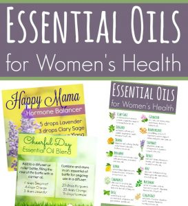 Essential Oils for Women's Health - great tips and recipes!