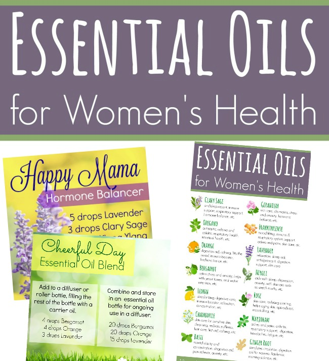 Essential Oils for Women's Health (FREE Coupon Code!)