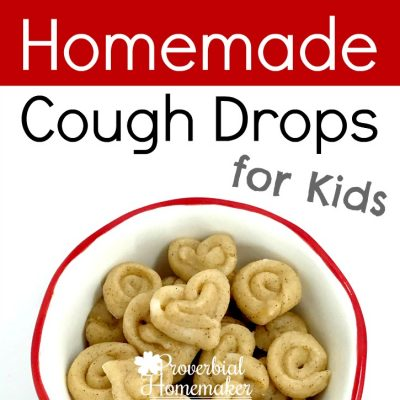 Homemade Cough Drops for Kids