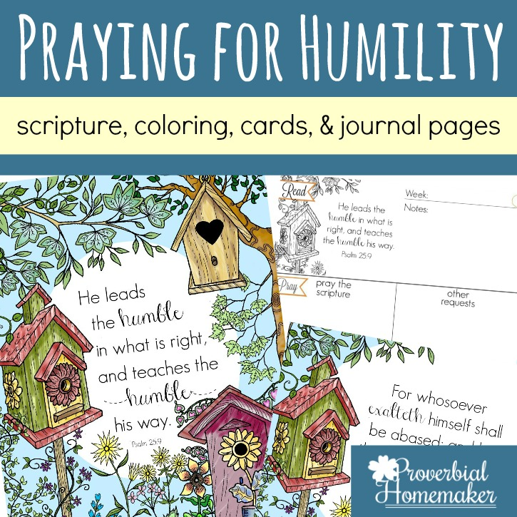 Praying for Humility – Scripture About Having Humble Hearts