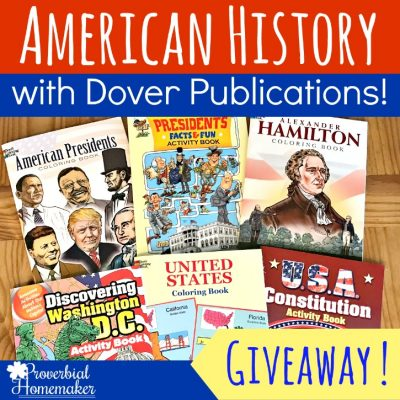 7 Ways to Make American History Fun (Dover GIVEAWAY!)
