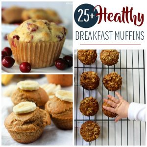 Get the morning started right for you and your kids with these recipes for healthy breakfast muffins!