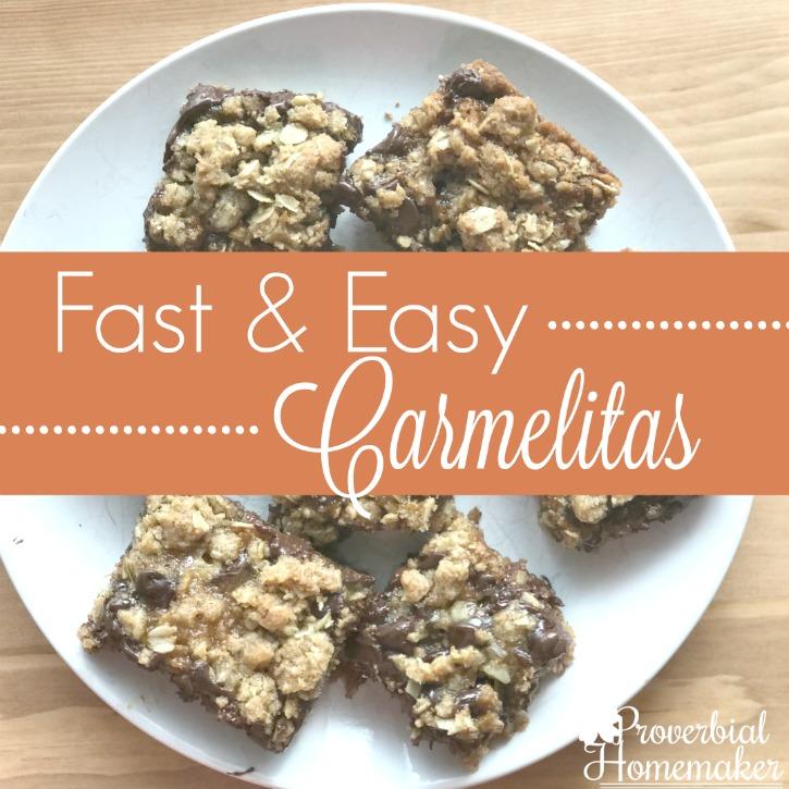 Fast and Easy Carmelitas Recipe