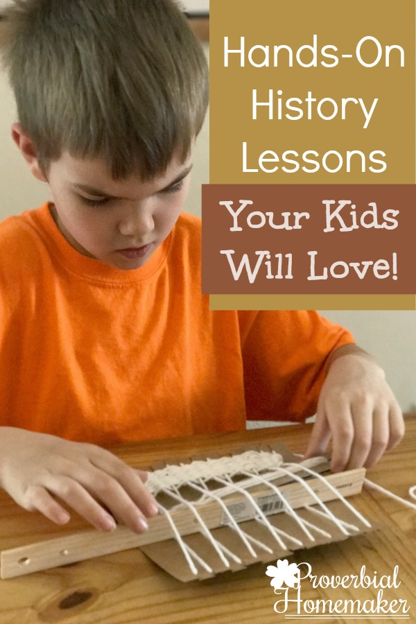 Hands-On History Lessons Your Kids Will Love! Homeschool in the Woods Colonial Times American History
