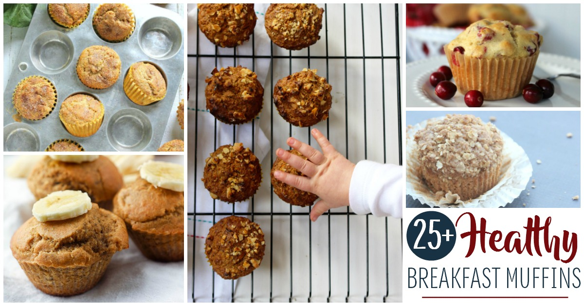 Get the morning started right for you and your kids! You'll love these great recipes for tasty and healthy breakfast muffins!