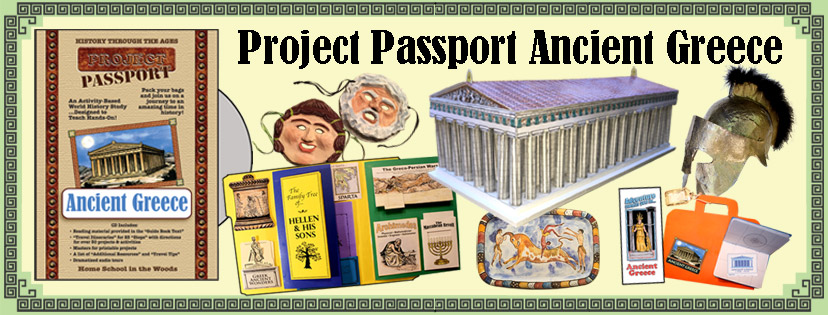 Project Passport World History Studies from Homeschool in the Woods are fantastic hands-on history studies your kids will love!