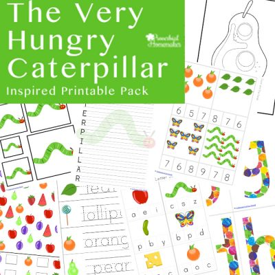 The Very Hungry Caterpillar Printable Pack