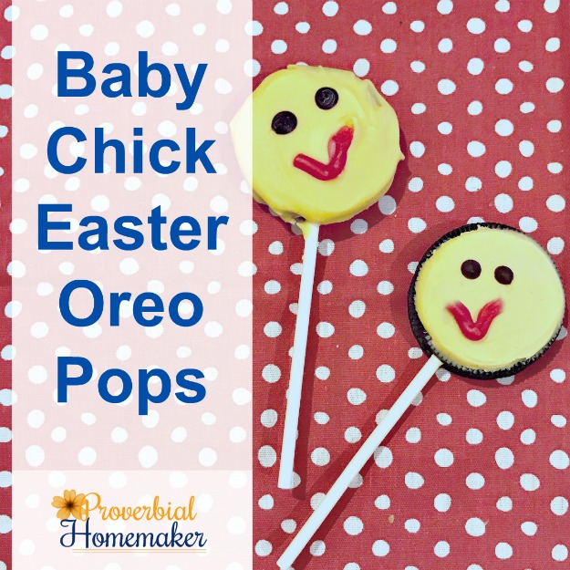 Baby Chick Easter Oreo Pops