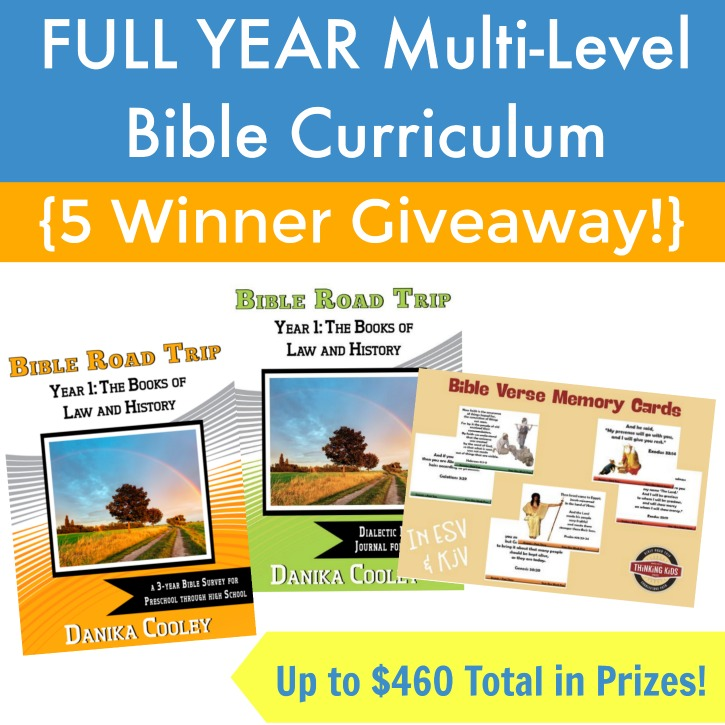 Our Favorite Bible Curriculum (5-Winner Giveaway and Freebie!