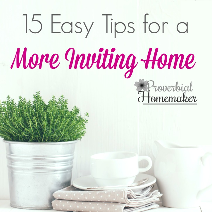 15 Easy Tips for a More Inviting Home ($250+ Giveaway!)