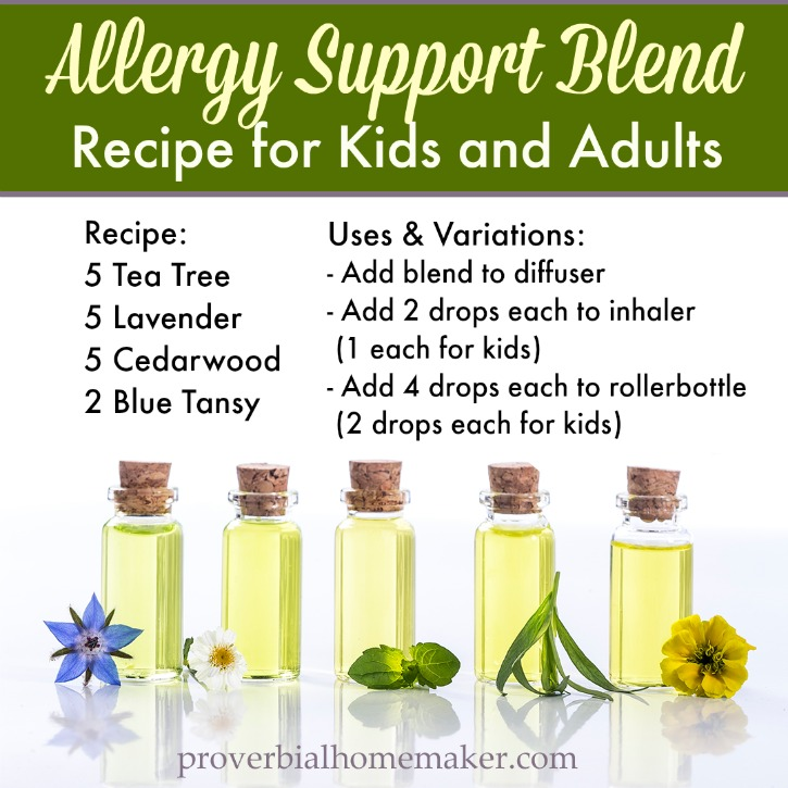 Do you or your kids have allergies? Try this simple allergy support recipe for your family!