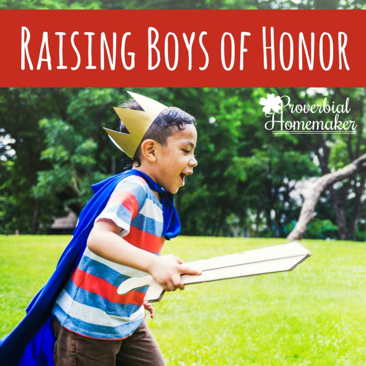 Raising Boys of Honor: Knights in Training