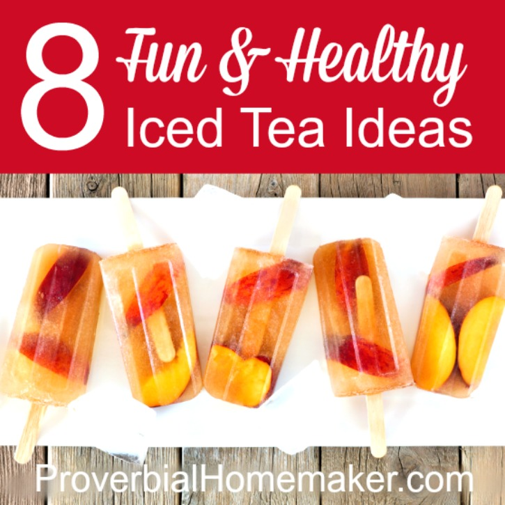 8 Fun & Healthy Iced Tea Ideas