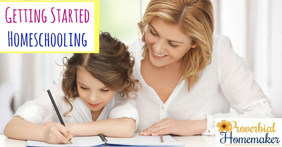 Tips and resources for getting started homeschooling!