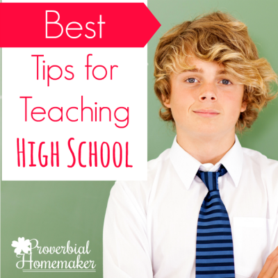 Best Tips for Teaching High School
