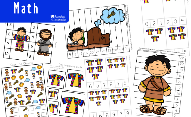 Read the story of Joseph and how God used a difficult situation for His purposes and glory! Then use our fun Joseph Printable Pack to reinforce the lesson!