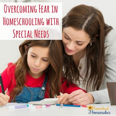 How To Overcome The Fear: Homeschooling with Special Needs