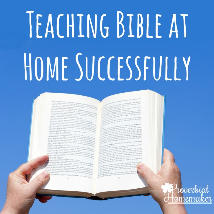 Teaching Bible at Home Successfully