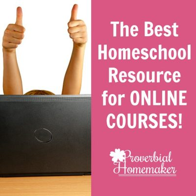 Want some fantastic electives or supplements for your homeschool? Or looking for a complete curriculum resource all in one place? Check out the BEST homeschool resource for online courses!