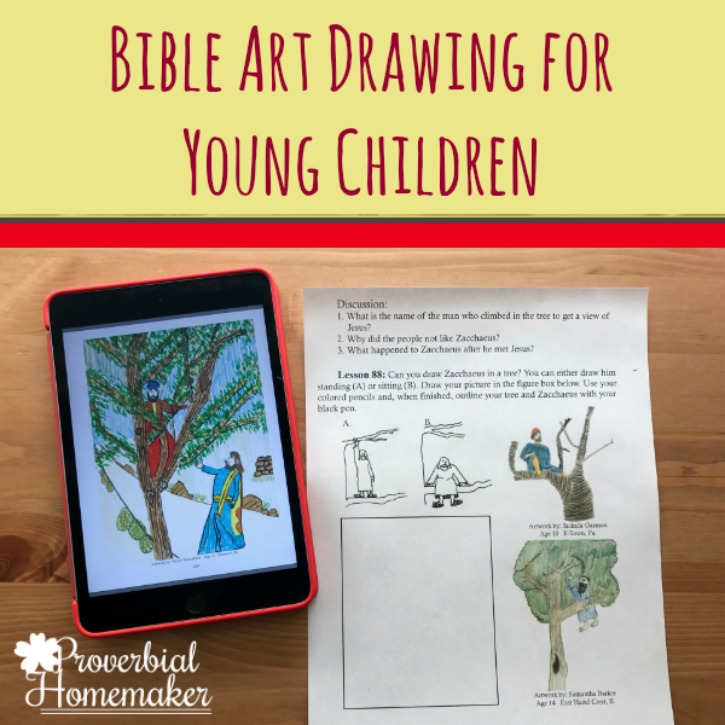 Bible Art Drawing for Children