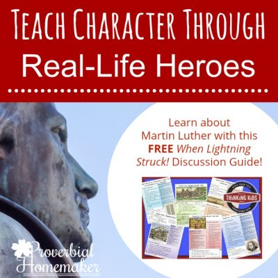 Teach Character Through Real-Life Heroes